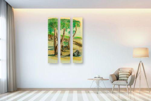 תמונה לבית - רינה יניב - עצי האקליפטוס - מק''ט: 255504