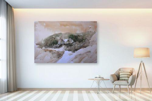 תמונה לבית - אורן יבנין - צריף בין העצים - מק''ט: 257602
