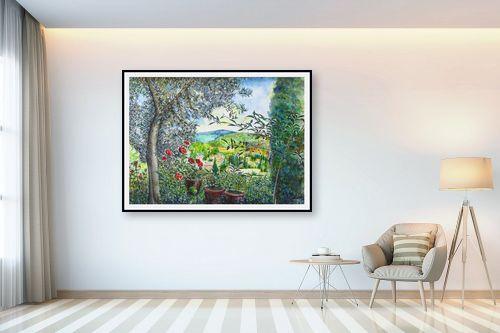 תמונה לבית - חיה וייט - עין כרם-מראה מגינתי - מק''ט: 258475