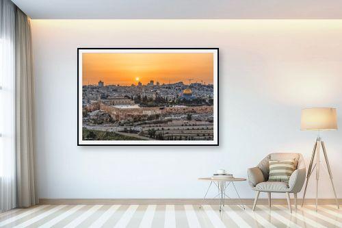 תמונה לבית - מיכאל שמידט - ראיתי עיר עוטפת אור - מק''ט: 258516