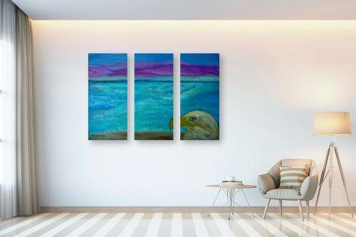 תמונה לבית - אסתר חן-ברזילי - חוף באי מלטה - מק''ט: 261339