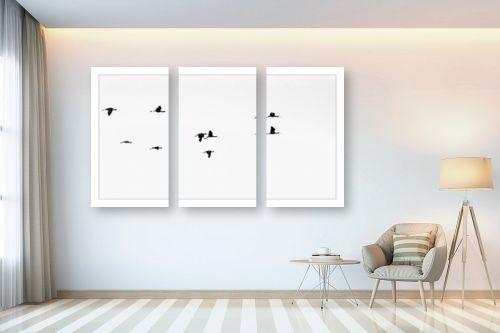 תמונה לבית - אילן עמיחי - מעוף הציפור - מק''ט: 264489