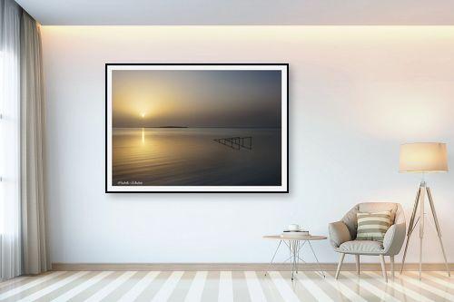 תמונה לבית - איזבלה אלקבץ - זריחה בים המלח - מק''ט: 266917