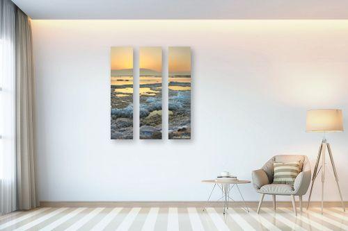 תמונה לבית - איזבלה אלקבץ - זריחה בים המלח - מק''ט: 268925