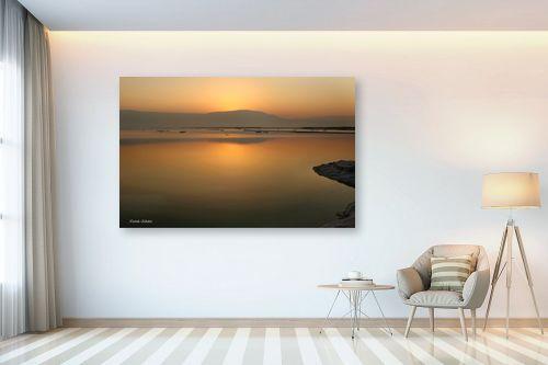 תמונה לבית - איזבלה אלקבץ - זריחה בים המלח - מק''ט: 268926