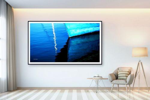 תמונה לבית - אורית גפני - כחול וכחול יותר - מק''ט: 270439