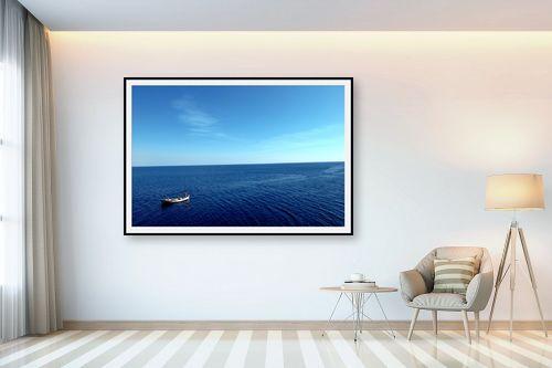 תמונה לבית - שי וייס - סירה בים שקט - מק''ט: 271719