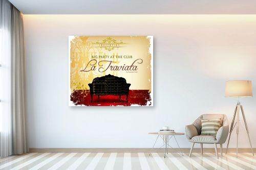 תמונה לבית - רוזה לשצ'ינסקי - La Traviata - מק''ט: 279294