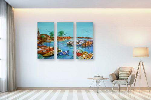 תמונה לבית - אסתר חן-ברזילי - נמל עכו - מק''ט: 280875