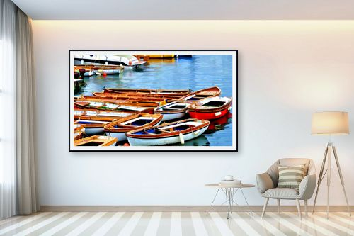 תמונה לבית - אורית גפני - נמל נאפולי - מק''ט: 281857