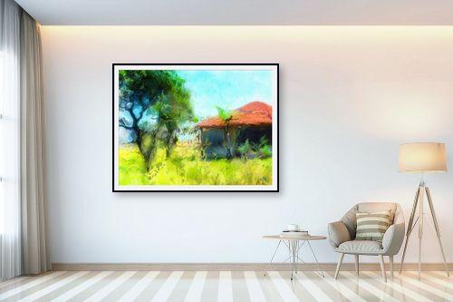 תמונה לבית - ויקטוריה רייגירה - טיול בכפר - מק''ט: 284986