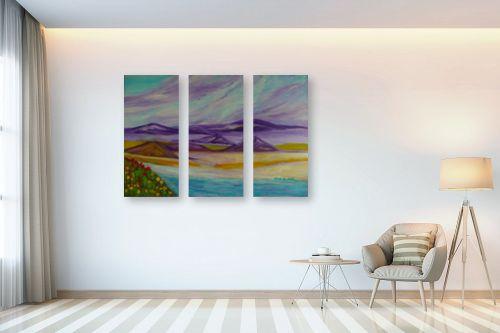 תמונה לבית - אסתר חן-ברזילי - הגבעות הסגולות - מק''ט: 291794