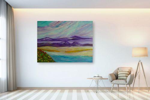תמונה לבית - אסתר חן-ברזילי - הגבעות הסגולות 2 - מק''ט: 292243