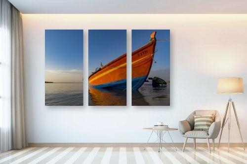 תמונה לבית - שי וייס - סירת דייג  - מק''ט: 294541