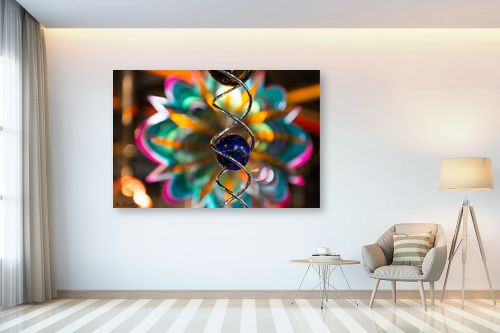 תמונה לבית - אורי לינסקיל - כדור כחול - מק''ט: 294673