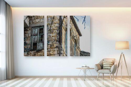 תמונה לבית - כרמל תדמור - קיר החלונות - מק''ט: 300753