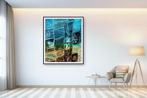 תמונה לבית - אורית גפני - שטיח של ים וחול - מק''ט: 303851