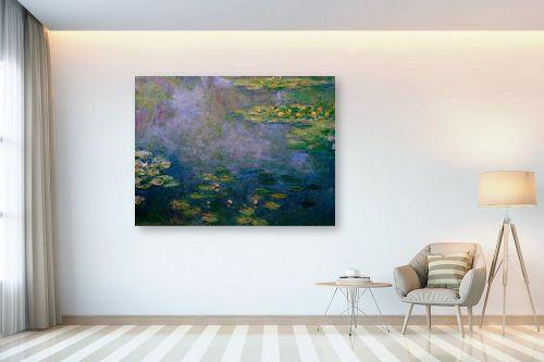 תמונה לבית - קלוד מונה - חבצלות מים water lillies - מק''ט: 305969
