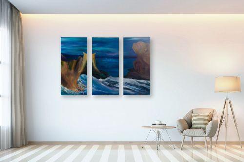 תמונה לבית - אסתר חן-ברזילי - הים המכושף - מק''ט: 306109