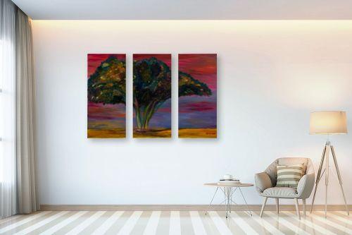 תמונה לבית - אסתר חן-ברזילי - עץ שיטה - מק''ט: 306127