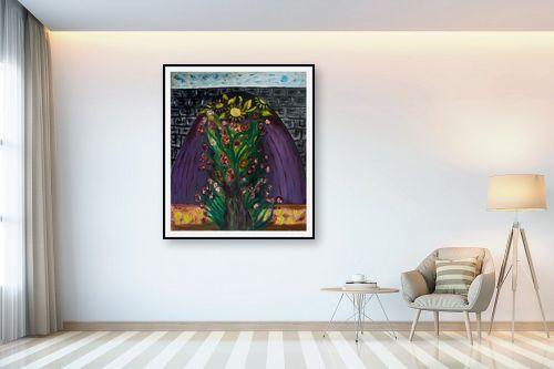 תמונה לבית - אסתר חן-ברזילי - שער הפרחים - מק''ט: 306281