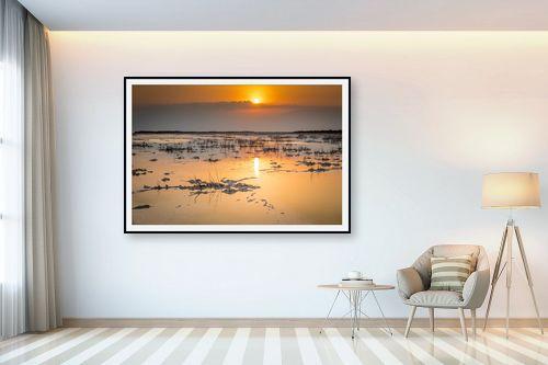 תמונה לבית - ניקולאי טטרצ'וק - זריחה בים המלח - מק''ט: 308328
