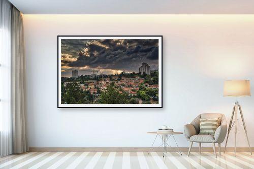 תמונה לבית - מיכאל שמידט - אור בירושלים - מק''ט: 308524