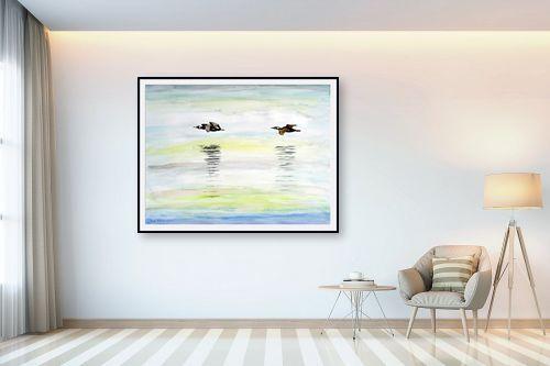תמונה לבית - חיה וייט - מעוף צפורים - מק''ט: 308652
