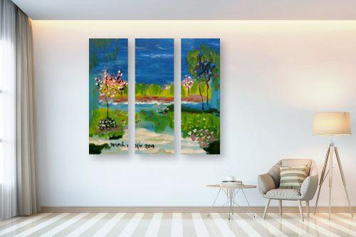 תמונה לבית - ורד אופיר - על גדות נחל - מק''ט: 309644