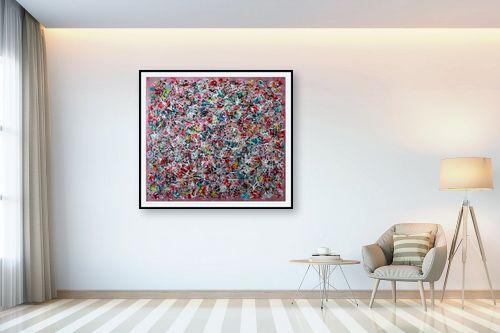 תמונה לבית - חיים מחט - סילסולים צבעוניים - מק''ט: 310763