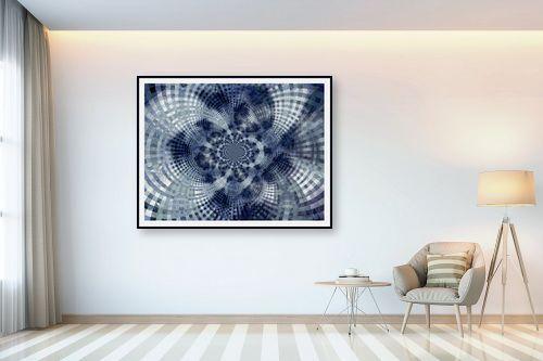 תמונה לבית - רעיה גרינברג - מנדלה בכחול - מק''ט: 312167