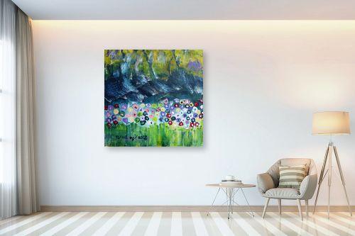 תמונה לבית - ורד אופיר - פרחי שדה - מק''ט: 312368