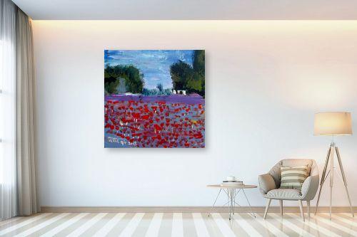 תמונה לבית - ורד אופיר - שדה כלניות - מק''ט: 313207