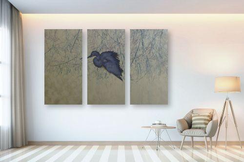 תמונה לבית - ענת אומנסקי - ציפור כחולה  - מק''ט: 313770