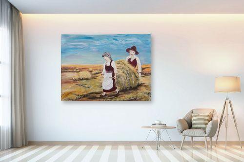 תמונה לבית - דיאנה אורן - עבודה בשדה - מק''ט: 315910