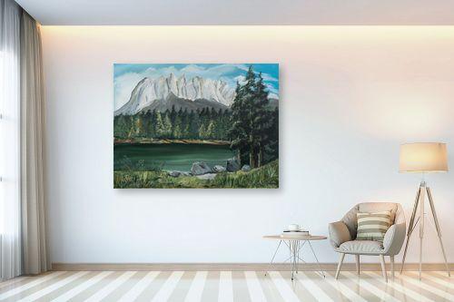 תמונה לבית - דיאנה אורן - אגם בצפון אמריקה - מק''ט: 316035