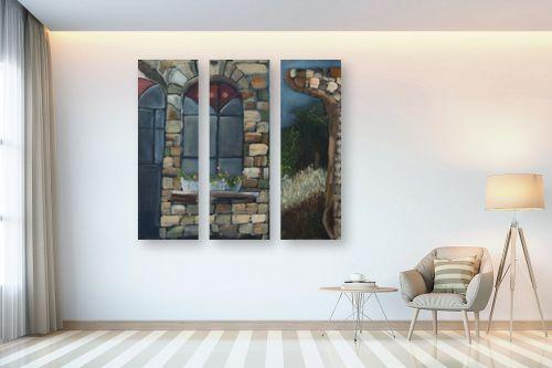 תמונה לבית - אסתר טל - חלון 1 - מק''ט: 316237