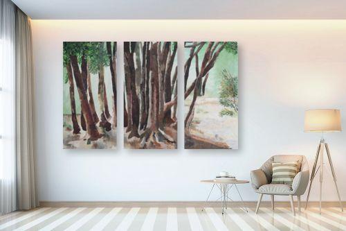 תמונה לבית - אסתר טל - עצים - מק''ט: 316248