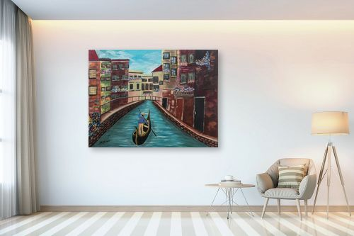 תמונה לבית - דיאנה אורן - ונציה - מק''ט: 316300