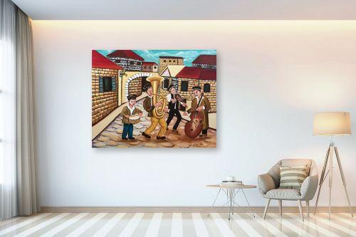 תמונה לבית - מזל בוכריס - כלייזמרים - מק''ט: 316336