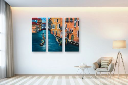 תמונה לבית - מזל בוכריס - ונציה - מק''ט: 316337