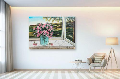 תמונה לבית - מזל בוכריס - אגרטל פרחים - מק''ט: 316442