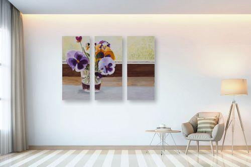 תמונה לבית - אסתר טל - פרחים בצנצנת - מק''ט: 316546