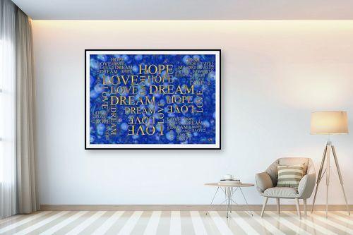תמונה לבית - ויקטוריה רייגירה - LOVE HOPE DREAM - מק''ט: 316717