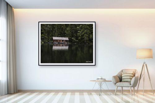 תמונה לבית - אלעד דרור - בקתה באגם - מק''ט: 316722