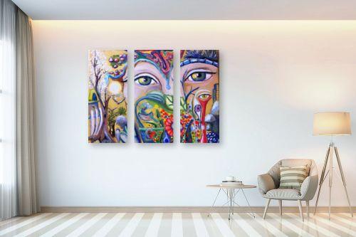 תמונה לבית - אילה ארויו - סימפוניית צבעים - מק''ט: 318408