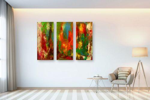 תמונה לבית - אסתר חן-ברזילי - פנטזיה של צבעים - מק''ט: 321573