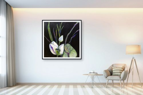 תמונה לבית - אילה ארויו - סידור פרחים יפני - מק''ט: 323535