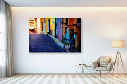 תמונה לבית - אורית גפני - סמטה ציורית - מק''ט: 325110
