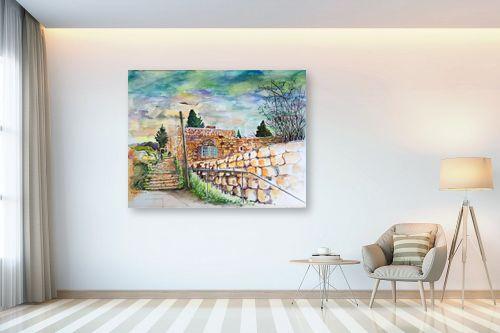 תמונה לבית - חיה וייט - מדרגות עין כרם  - מק''ט: 326513